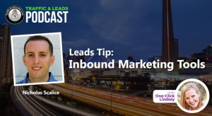 Leads Tip:  Inbound Marketing Tools