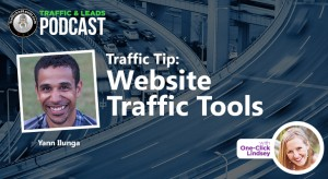 Traffic Tip:  Website Traffic Tools