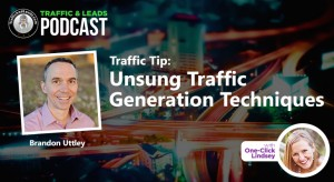 Traffic Tip: Unsung Traffic Generation Techniques