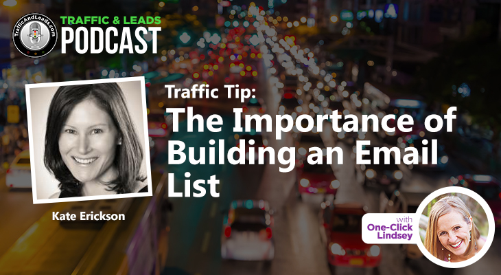 Traffic Tip: The Importance of Building an Email List