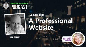 Leads Tip: A Professional Website