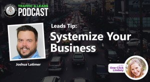 Leads Tip: Systemize Your Business