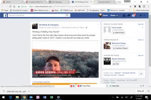 Aaron Hendon Facebook Video Ad Example - A feeder video