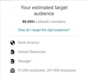 Aj Wilcox LinkedIn Targeting Example
