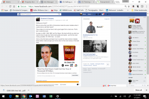 Facebook Ad for Aaron Hendon Book Don't Get Fooled Again
