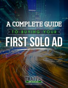 First Solo Ads Report Cover