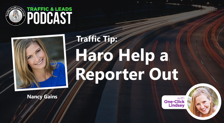 Traffic Tip: Haro Help a Reporter Out