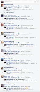 Facebook Video Post Comments