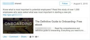 Aj Wilcox LinkedIn Ad Example