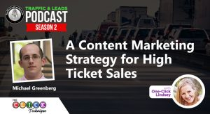 A Content Marketing Strategy for High Ticket Sale