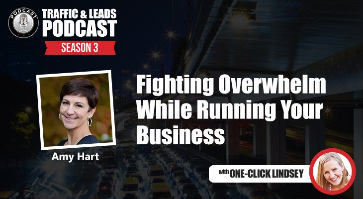 Fighting Overwhelm While Running Your Business with Amy Hart